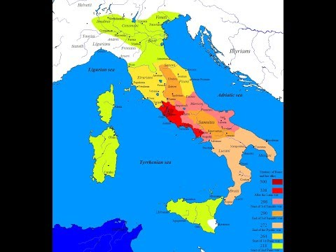 Expansion of Roman Influence in Italy
