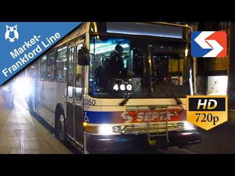 SEPTA Ride: 1997 North American Bus Industries 416 #5338 on the Market-Frankford Owl Express
