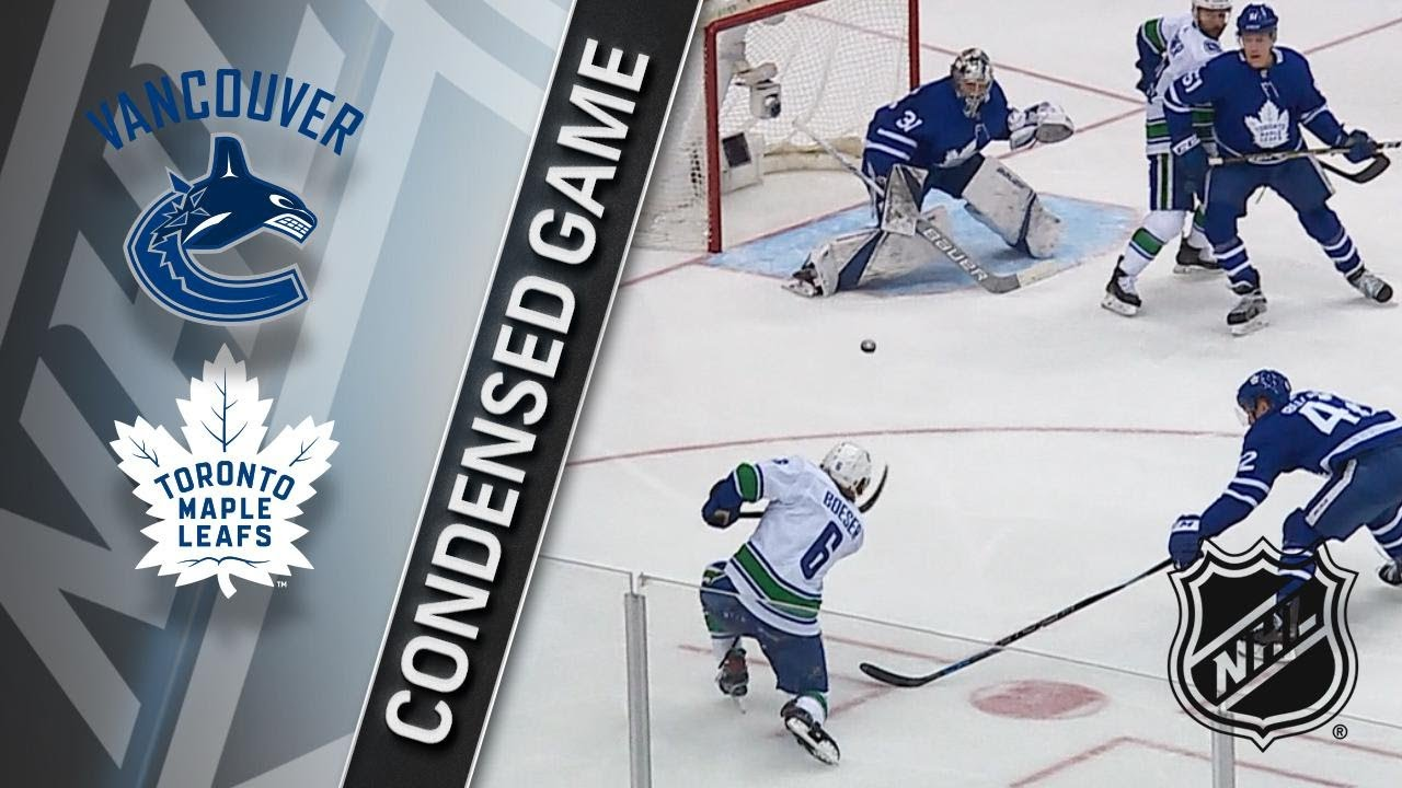 01 06 18 Condensed Game  Canucks   Maple Leafs - YouTube 4a52ea873