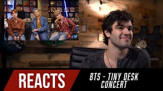 Producer Reacts to BTS Tiny Desk Concert