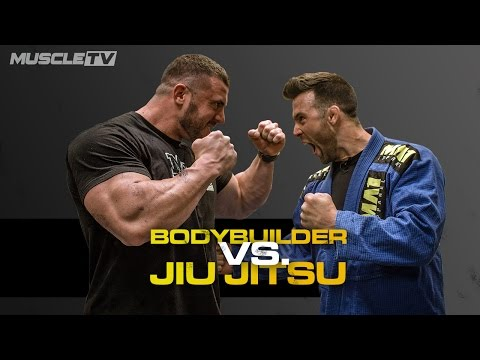 Thumbnail: BODYBUILDER Vs. JIU JITSU FIGHTER