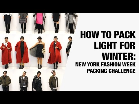How To Pack Light For Winter New York Ng Challenge Chictopia You