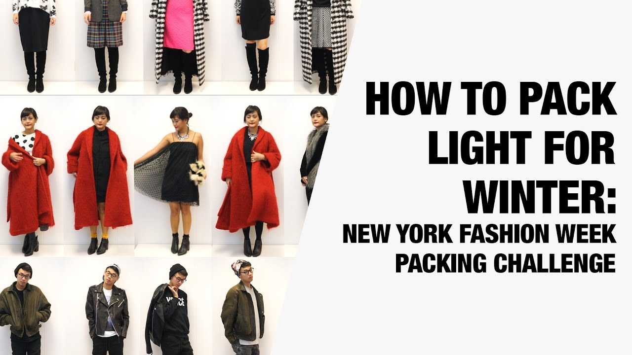 How To Pack Light For Winter New York