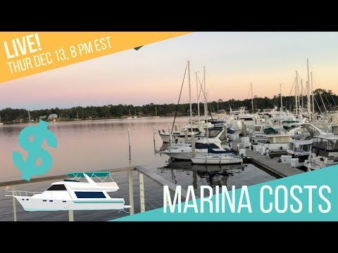 What Does it Cost to Stay in Marinas? Slip Fees, Dockage, Liveaboard, Monthly vs Nightly, Extras