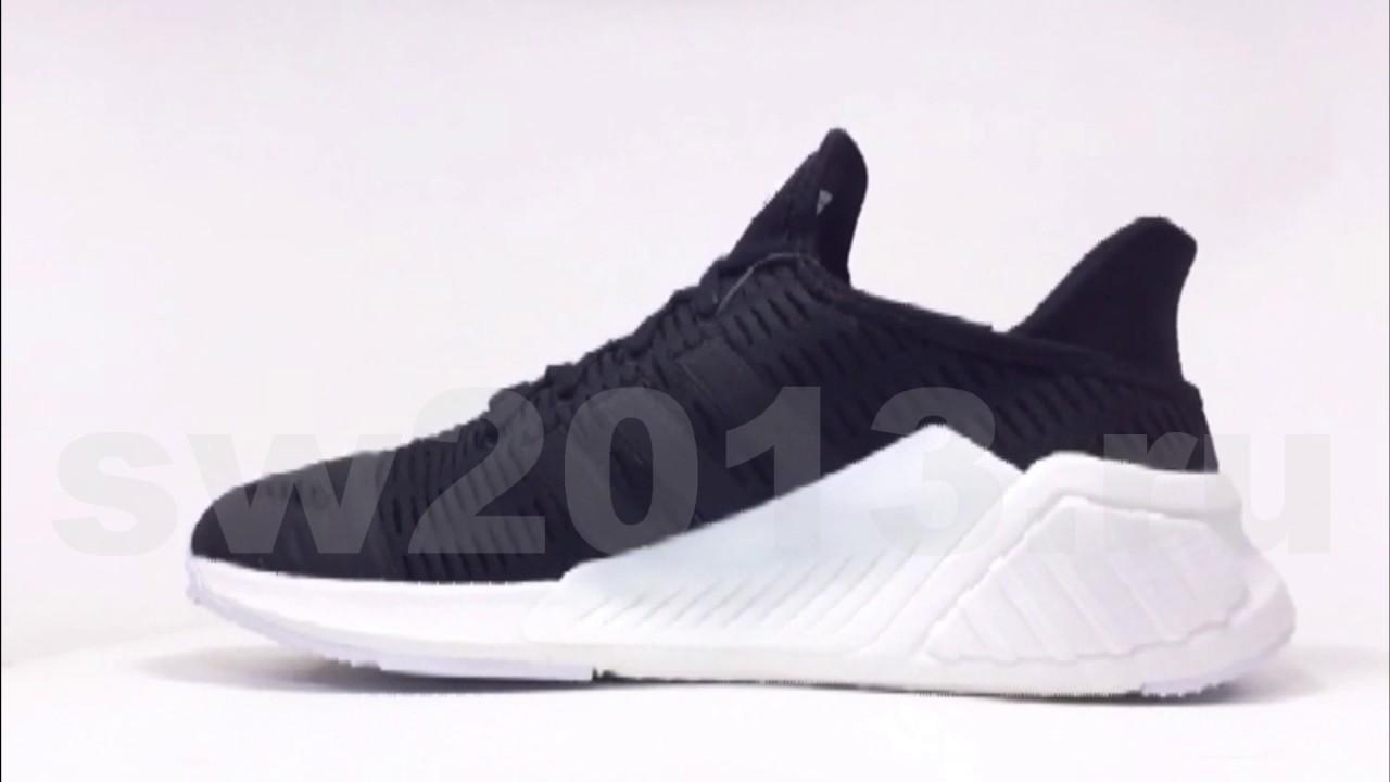 d12a4750e5a2 Adidas Clima Cool ADV Black White Men - YouTube