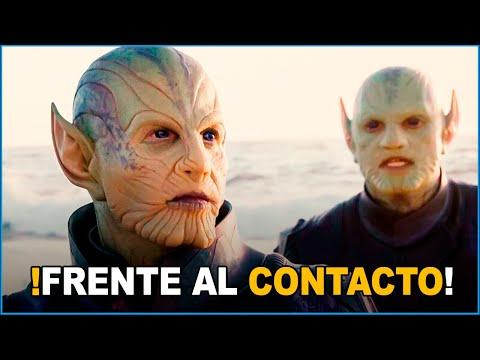 FRENTE A RAZAS ALIENÍGENAS CONTACTOS