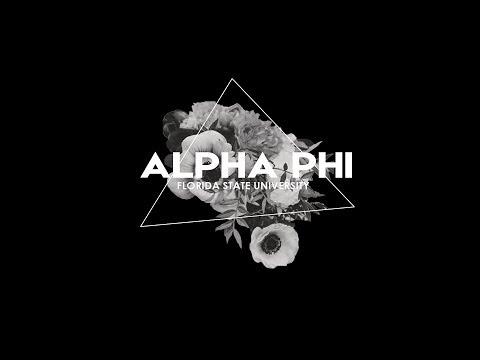 FSU Alpha Phi 2017 Recruitment