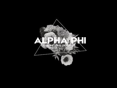 FSU Alpha Phi 2017 Recruitment