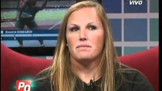 Jennifer Dahlgren en Pura Quimica (28-03-2012)