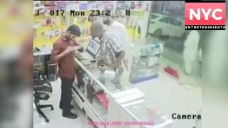 ¡Teléfono explota en las manos de un técnico