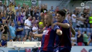 Resumen de SD Huesca vs Gimnàstic de Tarragona (1-1)