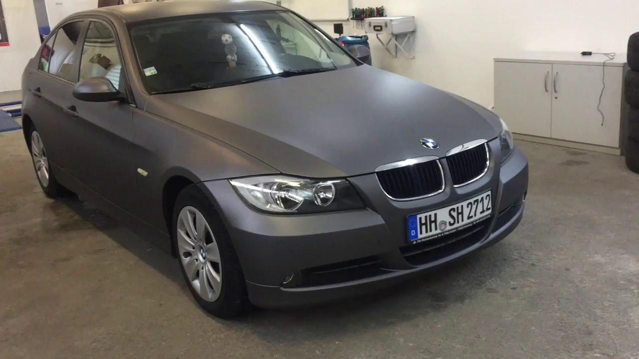 72db6ab043 BMW E90 Grau Matt, Folierung nach 5 Monaten. JGFolierung.de - YouTube