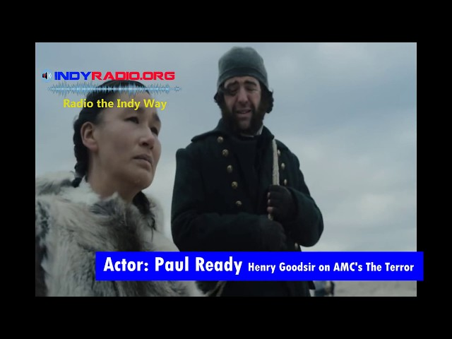 The Terror's actor Paul Ready working with Nive Nielsen Lady Silence