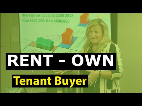 Why do tenant buyers rent to own with Rachel Oliver