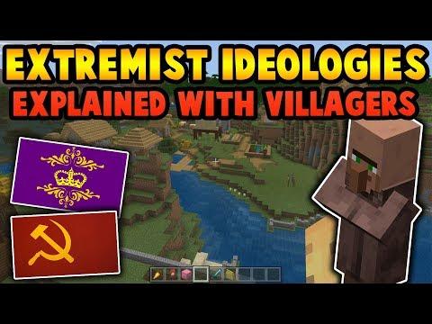 Extremist Ideologies Explained Through Minecraft Villages