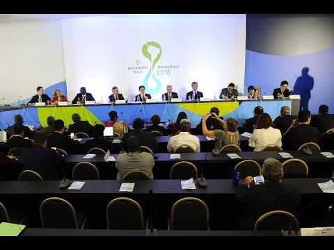 Manifesto para garantir a segurança hídrica marca o 3º dia do Fórum Mundial da Água