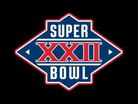 Super Bowl 22 (XXII) - Radio Play-by-Play Coverage - C.B.S. Radio Sports NFL