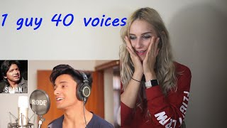 Reacting to 1 GUY 40 VOICES (with music) | Part 2 | Aksh Baghla