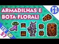 Flower Boots, Caçando Armadilhas e Beetle Armor Bug (?)  • Terraria 1.3 Expert #57