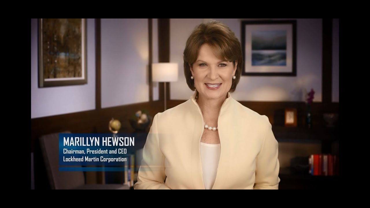 Lockheed Martin Chairman, President and CEO Marillyn Hewson