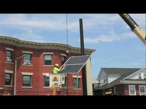 City of Boston - Solar Evacuation Route