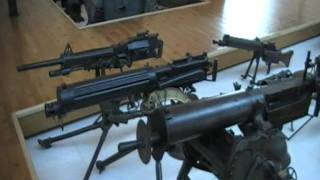 WW1 Machine Guns - Peronne Museum - Stuart Curry