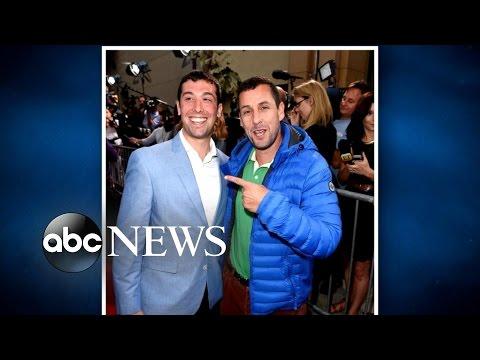 Adam Sandler Meets Doppelganger at 'The Do-Over' Red Carpet