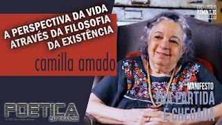 """Manifesto """"Tua Partida é Chegada"""" por  Camilla Amado"""