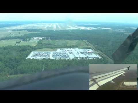 Air Bus A319 Landing in Memphis