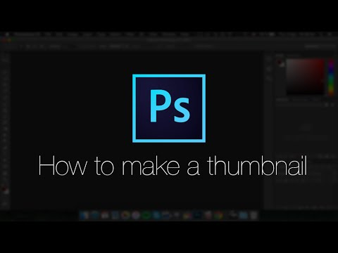 how to make a thumbnail photoshop