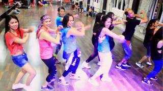 "Zumba Dangdut "" Minta kawin By  Erie Suzan - Choreo By Chenci At BFS Studio"