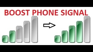 Phone life hacks: For better Signal / Reception