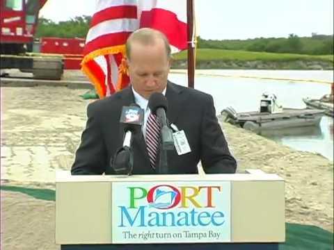 Port Manatee - Berth 12 Container Yard - Groundbreaking Ceremony