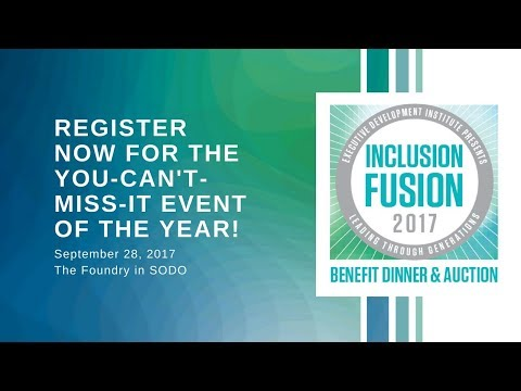 Register for EDI's 2017 Inclusion Fusion!