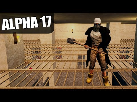 ALPHA 17 | PREFAB HORDE BASE DESIGN | 7 Days To Die Alpha 17 Gameplay | S17.1E07