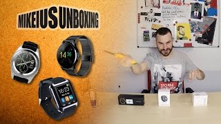 Smartwatches ( No.1 / G6 / K88H )  - Mikeius Unboxing