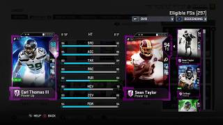 MUST SEE SQUAD! PACKED WITH GHOSTS OF MADDEN PRESENT AND 98 OVERALL'S! MADDEN 19 ULTIMATE TEAM