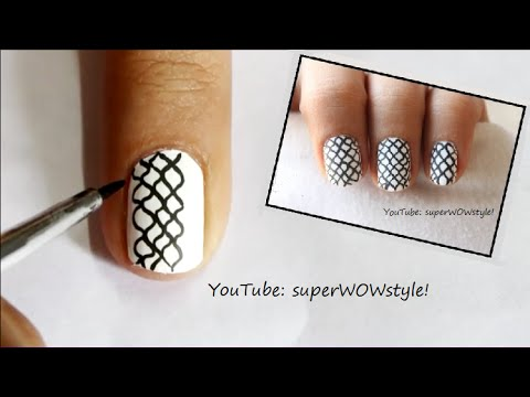 medium & short nails nail art