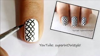 Medium & Short Nails Nail Art - Easy Nail Designs For Short Nails