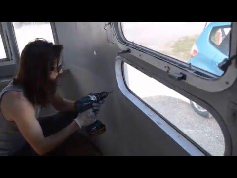 Airstream: Interior Panel Removal