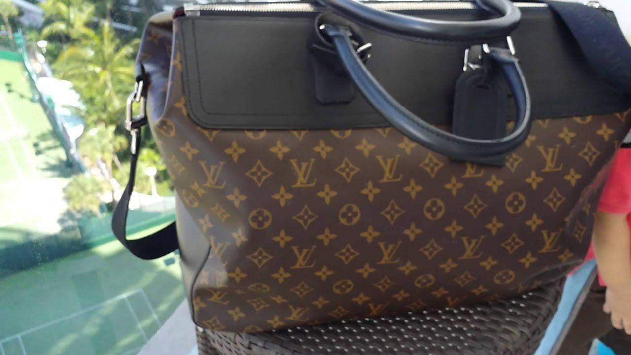 Live at Trump International Resort: Louis Vuitton Macassar Neo Greenwich  Men's Travel Bag Review