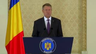Romania's president about banning same-sex marriages