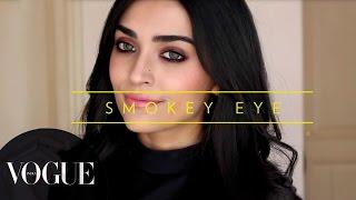 How To Do Smokey Eye Makeup? | Vogue Beauty Goals with Lizah ● Makeup Tutorial | VOGUE India