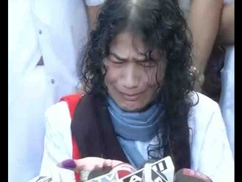Irom Sharmila gets emotional while ending 16-year fast against AFSPA