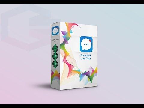 Facebook Social Live Chat - Desktop And Mobile  - Prestashop Module