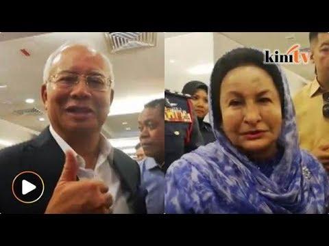 Najib, Rosmah lawat Adib di IJN