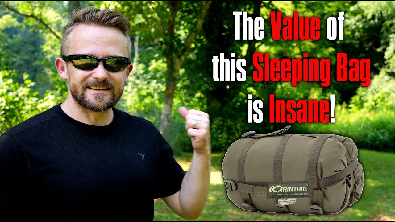 Insane Value, You Won't Believe It - Carinthia Defence 1 Sleeping Bag Review