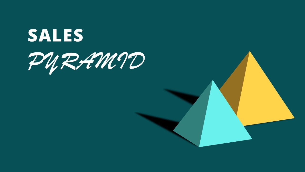 Quick Tutorial How To Create 3d Pyramid Shapes In Microsoft