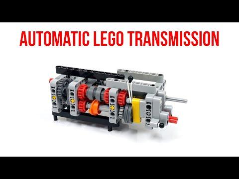 Lego Technic Automatic 4-speed Transmission Prototype
