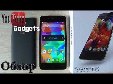 Micromax Canvas Spark Q380 Android 5.0 Lollipop Обзор смартфона